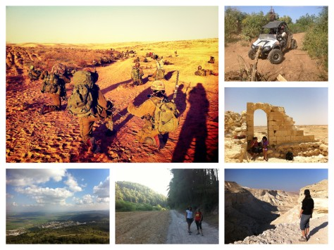 collage vvivir en israel