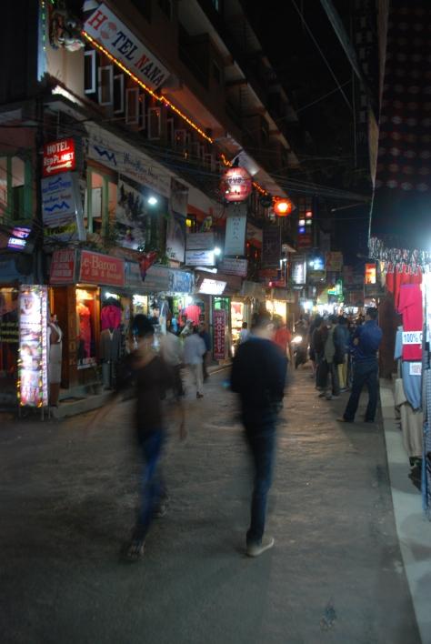 El Tamel en Katmandú