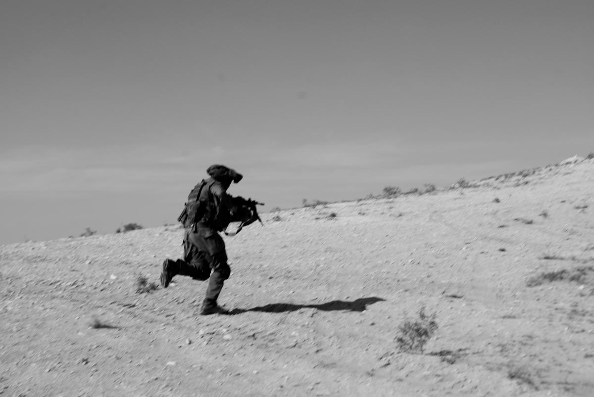 Corriendo por el desierto...Marzo del 2009