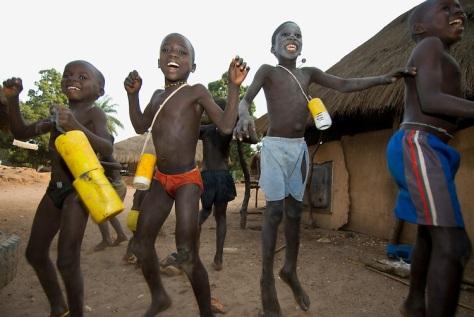 Niños en Guinea Bissau
