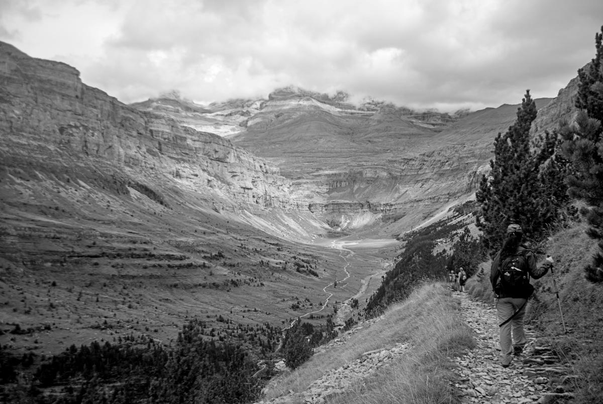 Faja de Pelay en la reserva de Ordesa y Monte Perdido...