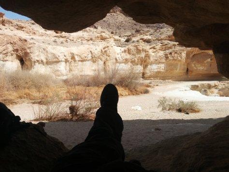 Mi cueva en medio del desierto...
